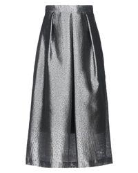 Caractere Gray 3/4 Length Skirt