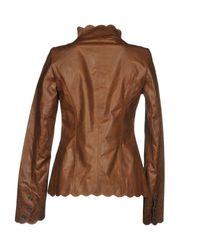 Rose's Roses Brown Jacket