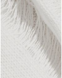 R13 White Pullover
