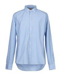 Historic Blue Shirt for men