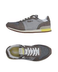 Pepe Jeans Gray Low-tops & Sneakers