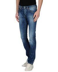 Jcolor Blue Denim Trousers for men