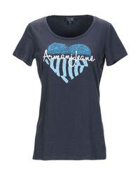 T-shirt di Armani Jeans in Blue