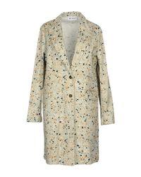 Barena Green Overcoat