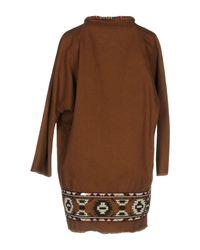 Bazar Deluxe - Brown Overcoat - Lyst