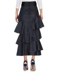 Dolce & Gabbana Blue Denim Skirts