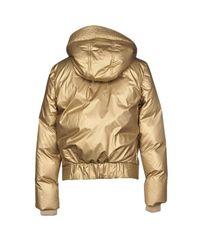 Versace Jeans Metallic Down Jacket