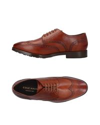 Cole Haan Brown Lace-up Shoe for men
