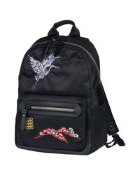 Lanvin Black Backpacks & Fanny Packs