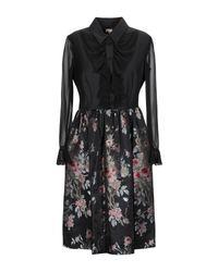 Antonio Marras Black Knee-length Dress