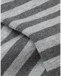Calze e Calzini di John Smedley in Gray da Uomo