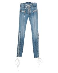 Unravel Project Blue Denim Pants