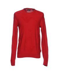Armani Jeans Red Jumper for men