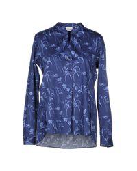 Camicia di Caliban in Blue