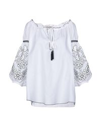 Blouse Ki6? Who Are You? en coloris White