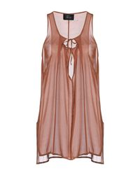 Lost & Found Brown Top