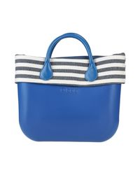 Borsa a mano di O bag in Blue