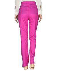 Pantalon Mauro Grifoni en coloris Purple