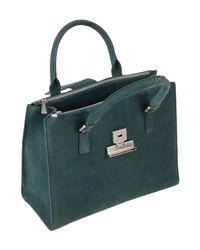 Borsa a mano di Mia Bag in Green