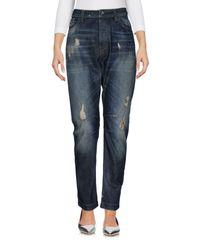Twin Set Blue Denim Pants