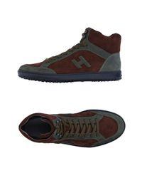 Hogan Brown High-tops & Sneakers for men
