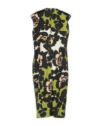 Alessandro Dell'acqua Green Knee-length Dress