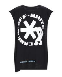 T-shirt di Off-White c/o Virgil Abloh in Black