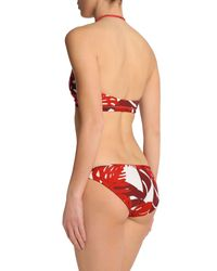 Sujetador bikini Mikoh Swimwear de color Red