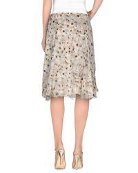 Falda corta Armani de color Natural
