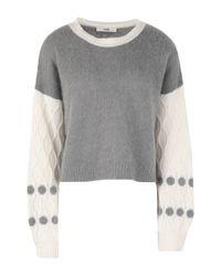 Suoli Gray Pullover