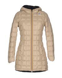 K-Way | Natural Down Jacket | Lyst