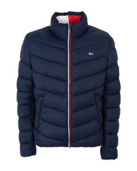 Tommy Hilfiger Blue Synthetic Down Jacket for men