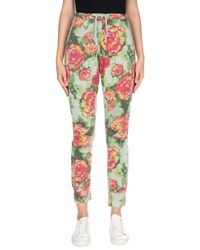 Berna Gray Casual Pants