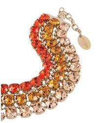 Pinko - Red Bracelet - Lyst
