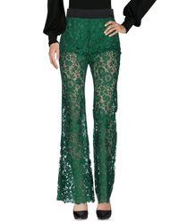 Dolce & Gabbana Green Casual Pants