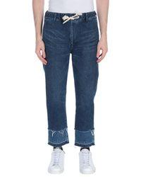 Pantaloni jeans di Remi Relief in Blue da Uomo