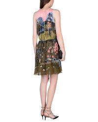 Valentino Green Short Dress