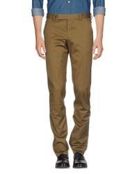 Paul Smith Green Casual Trouser for men
