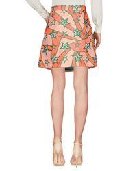 P.A.R.O.S.H. Pink Knee Length Skirt