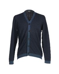 Massimo Alba - Blue Cardigan for Men - Lyst