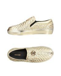 Roberto Cavalli Metallic Low-tops & Sneakers