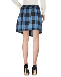 Cheap Monday Blue Knee Length Skirt