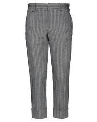 Neil Barrett Gray Casual Pants for men