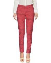 Guess Red Casual Pants