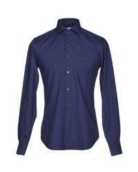 Camisa Xacus de hombre de color Blue