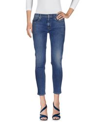 Hudson Blue Denim Trousers