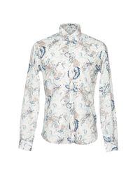 Poggianti White Shirt for men