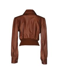 John Richmond - Brown Jacket - Lyst