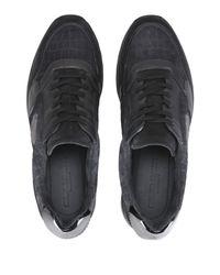 Giorgio Armani Low Sneakers & Tennisschuhe in Black für Herren