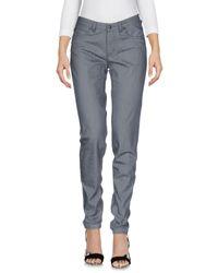 Drykorn Gray Denim Pants